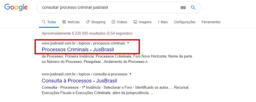 Como Consultar Processo Criminal Pelo Nome da Pessoa